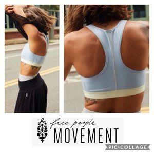 ⚡️SALE⚡️FP Movement Move Me Pastel Blue Sports Bra
